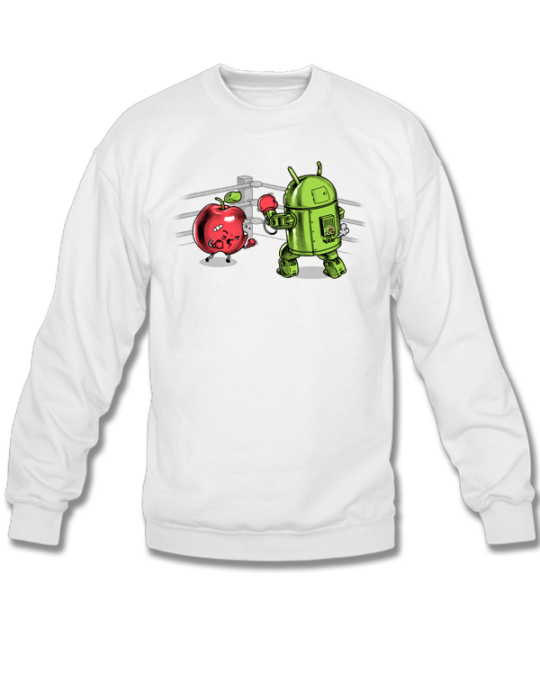 ANDROID VS IOS SWEATSHIRT