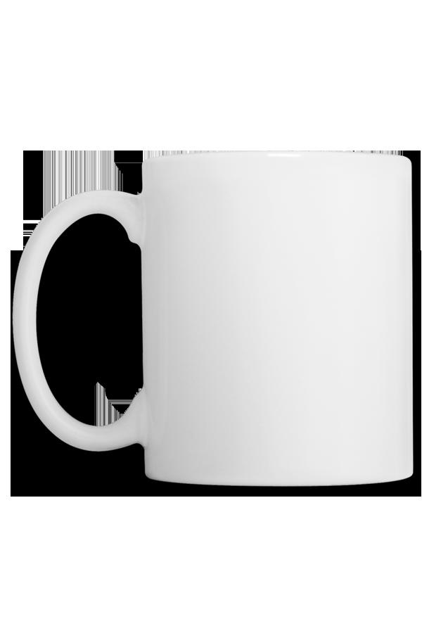mug en c ramique blanc maryouli. Black Bedroom Furniture Sets. Home Design Ideas