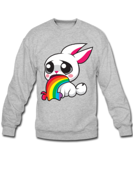 Bunny Barfing Rainbow