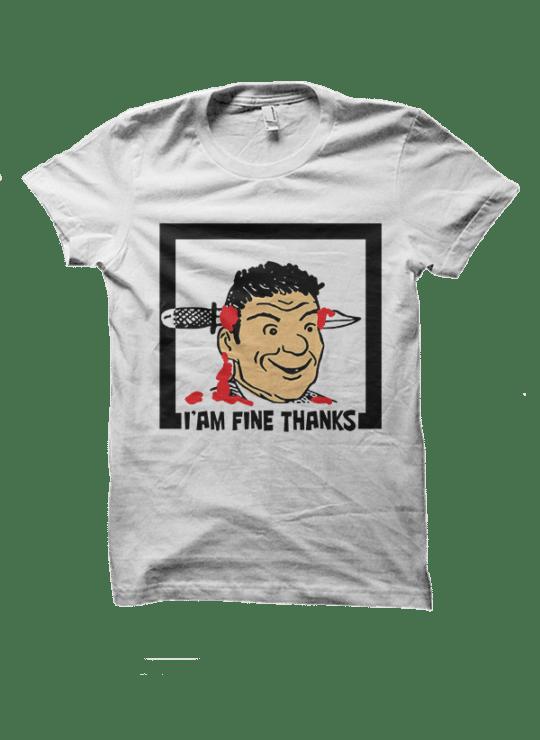 i m fine thanks