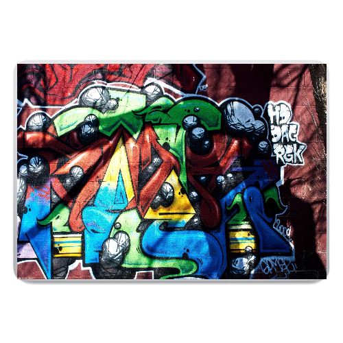 graffiti laptop