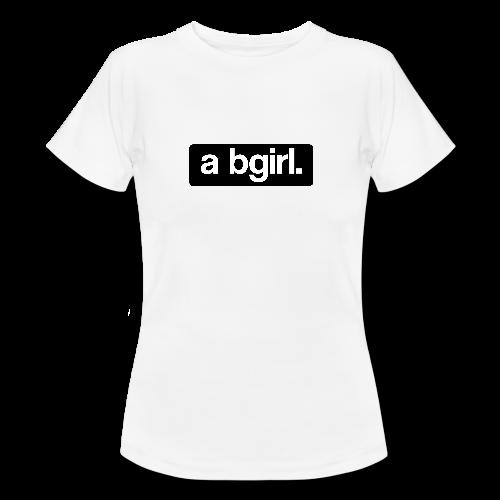 a bgirl